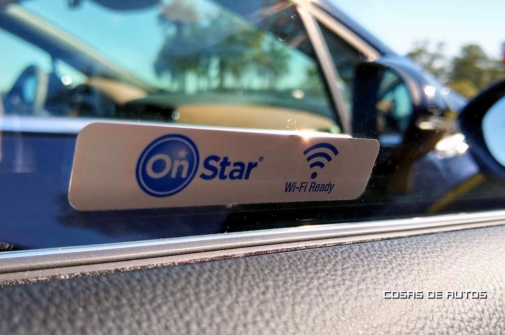 Chevrolet Cruze wifi