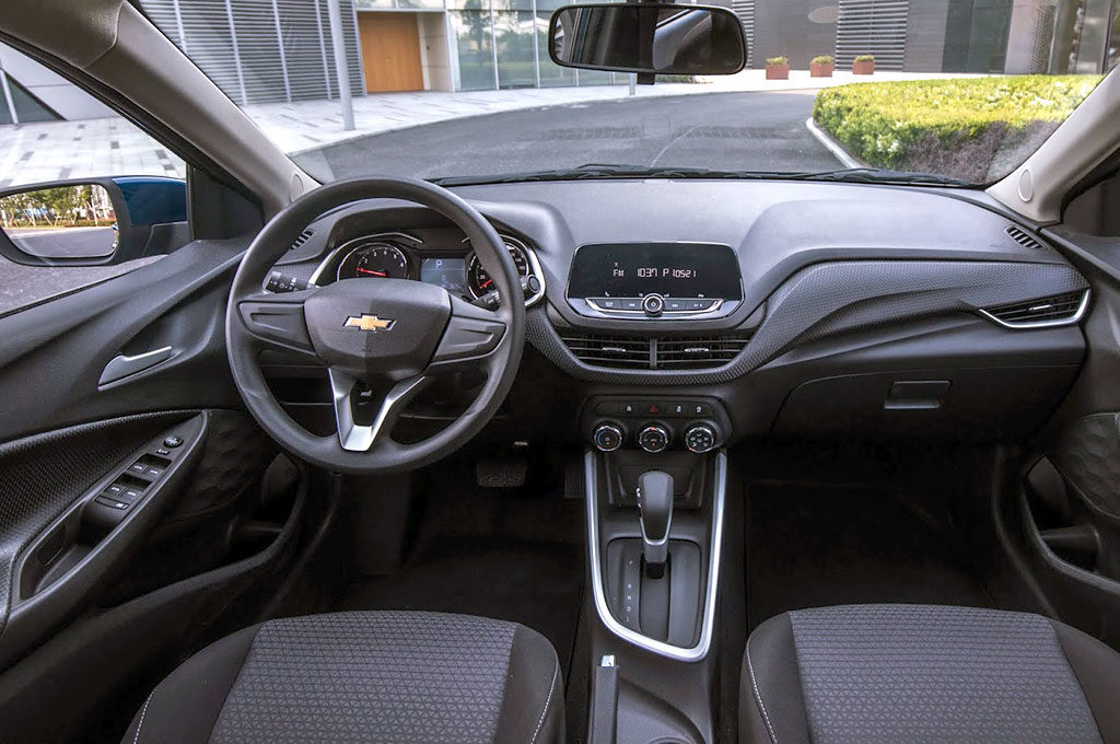 Interior del Nuevo Chevrolet Onix - China