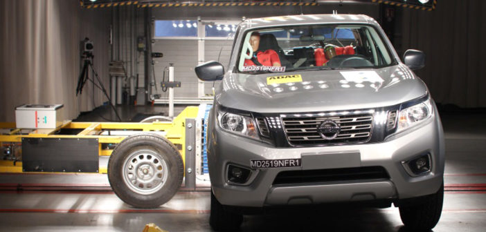 Latin NCAP: cuatro estrellas para la Nissan Frontier