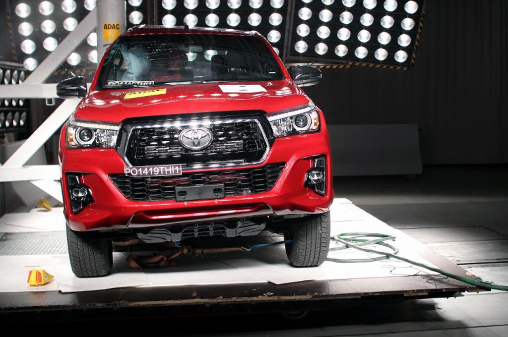 LatinNCAP - Toyota Hilux 2019