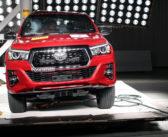 Latin NCAP: la Toyota Hilux logró puntaje perfecto en protección de adultos y niños