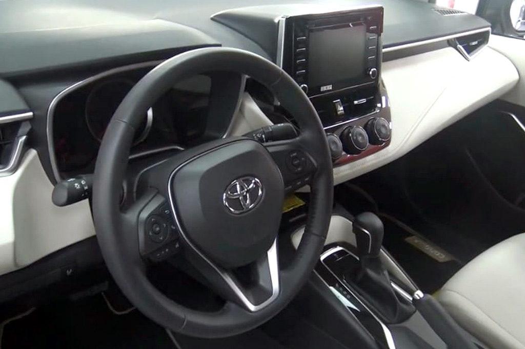 Interior del Nuevo Corolla 2020