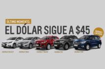 Chevrolet Dólar a $45