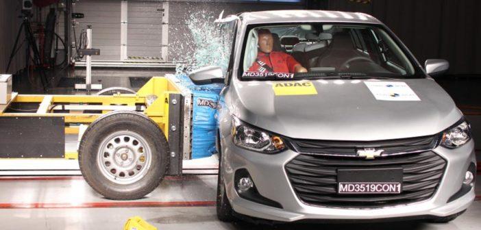 El Nuevo Chevrolet Onix logró la máxima calificación posible en seguridad