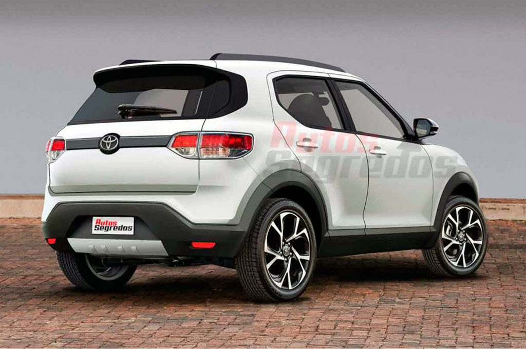 Proyección del SUV compacto de Toyota Brasil - Autos Segredos