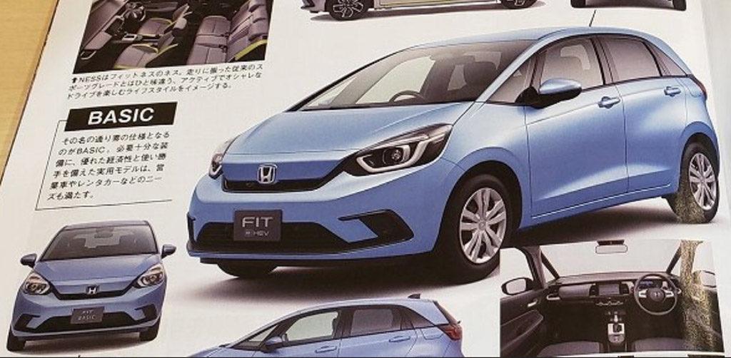 Nuevo Honda Fit Basic