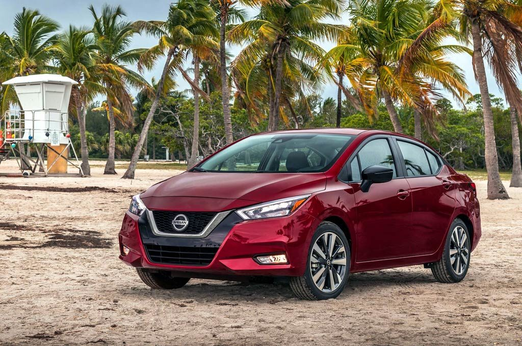 Nuevo Nissan Versa sedán