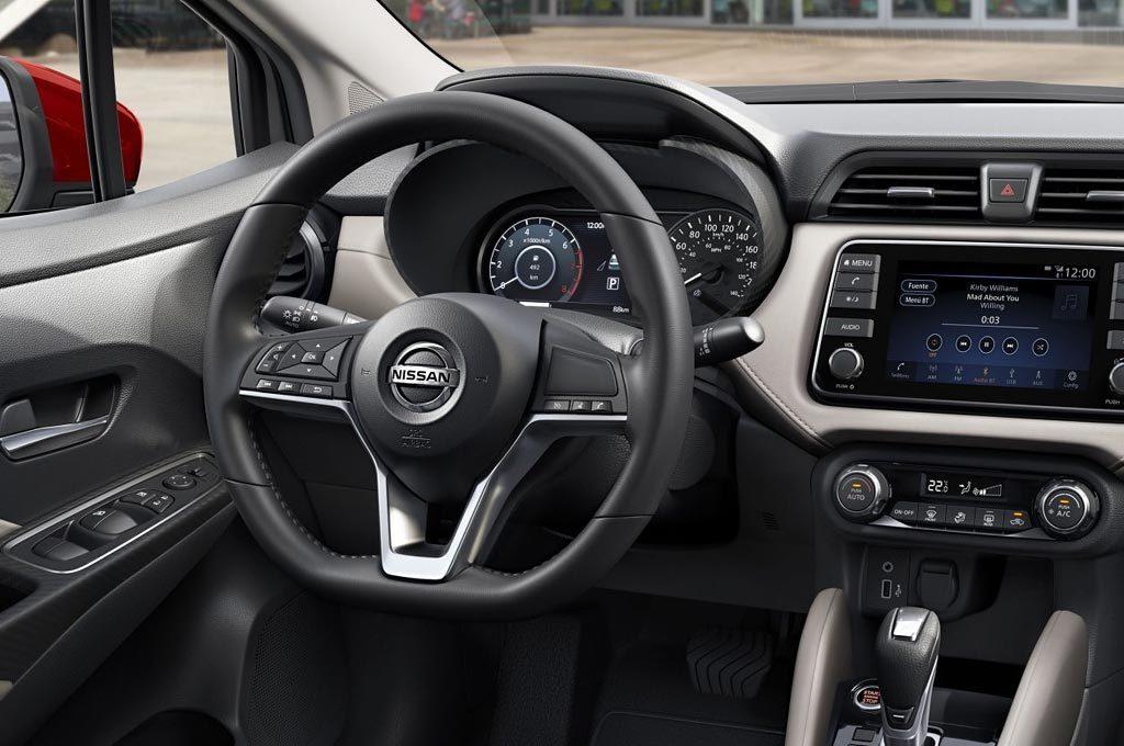 Interior del Nuevo Nissan Versa
