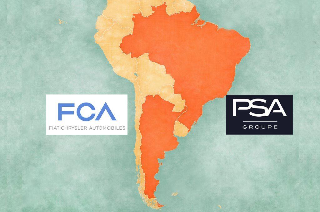 PSA y FCA en Mercosur