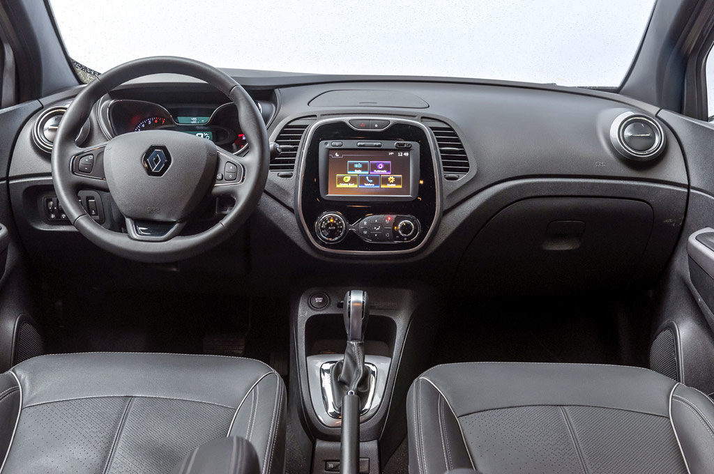 Interior del Renault Captur Bose