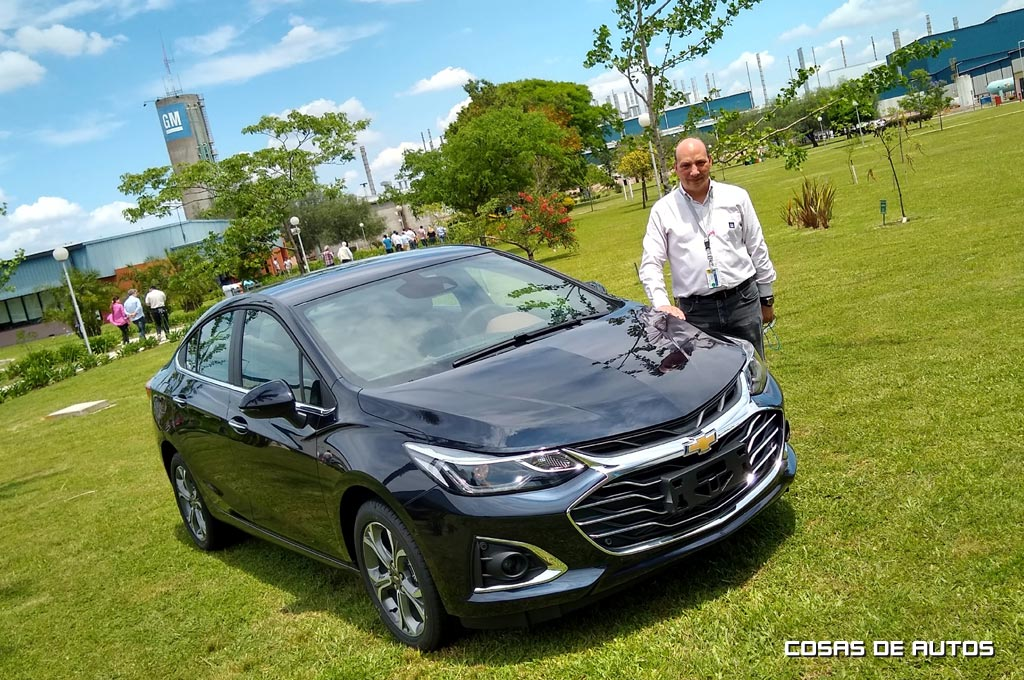 Chevrolet Cruze -  Claudio Vulcano