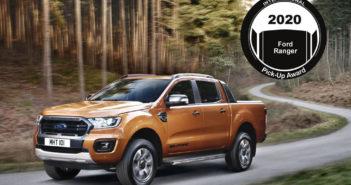 Ford Ranger obtuvo el International Pick-Up Award 2020
