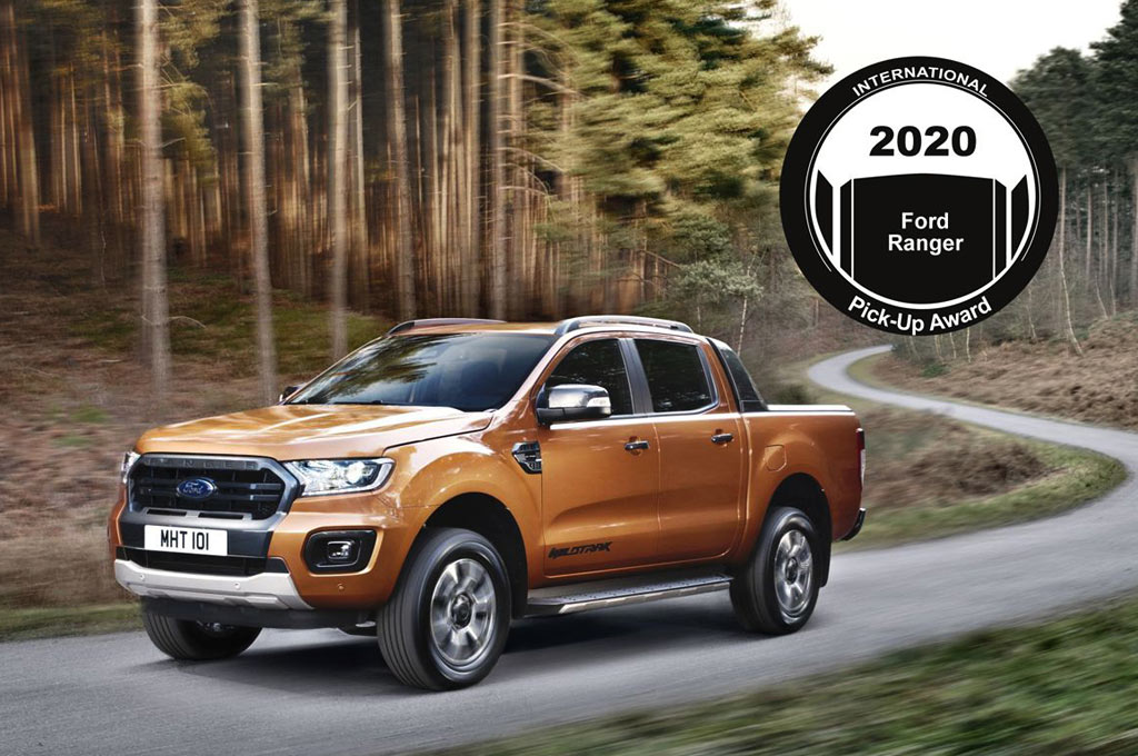 Ford Ranger obtuvo el International Pick-Up Award 2020