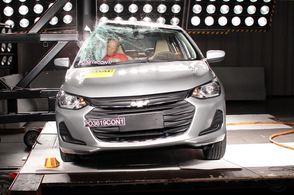 Cinco estrellas y premio Latin NCAP Advanced Award para el Nuevo Onix Hatch