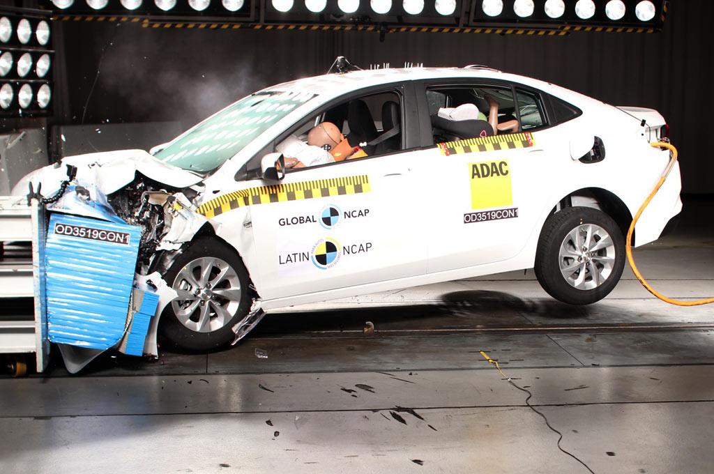 Cinco estrellas y premio Latin NCAP Advanced Award para el Nuevo Onix