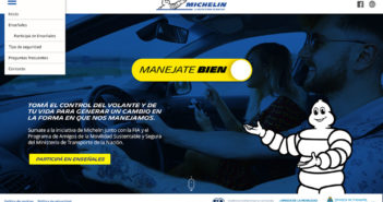Campaña ManejateBien de Michelin