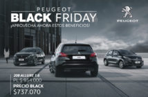Peugeot Black Friday 2020