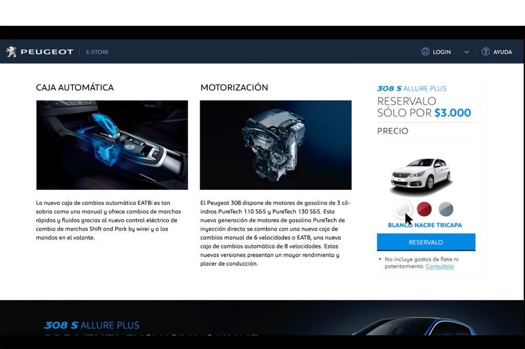 Peugeot E-Store