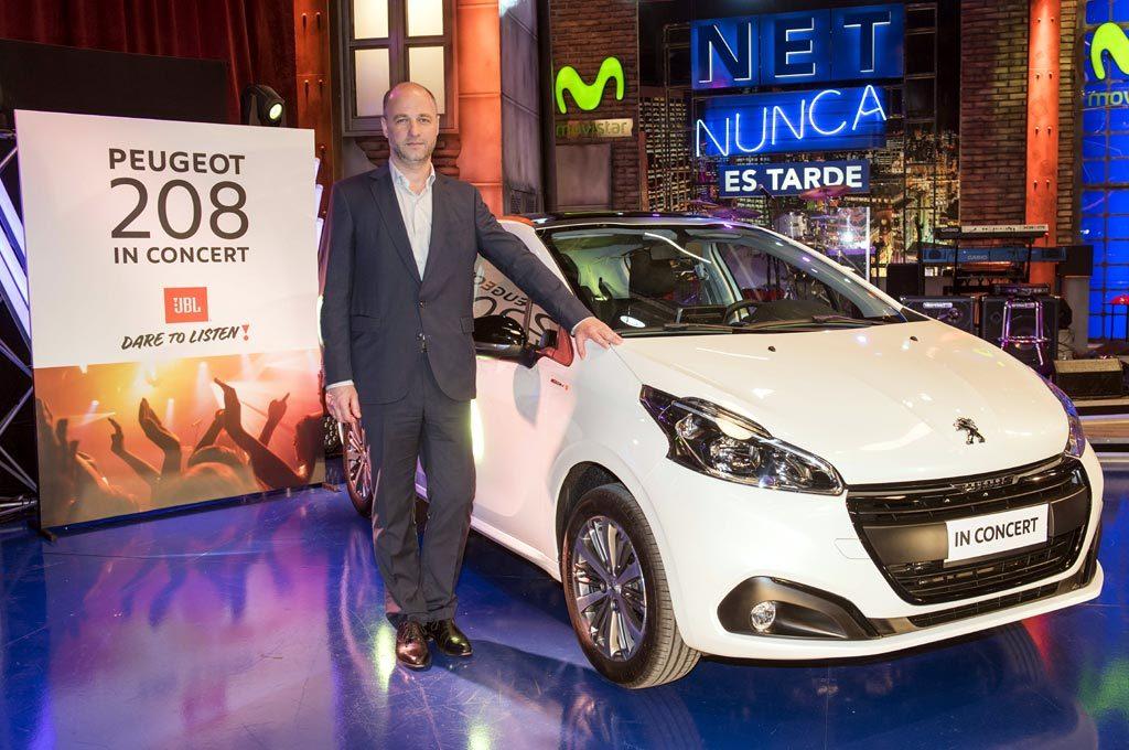 Franklin Bendahan director de MKT de Peugeot