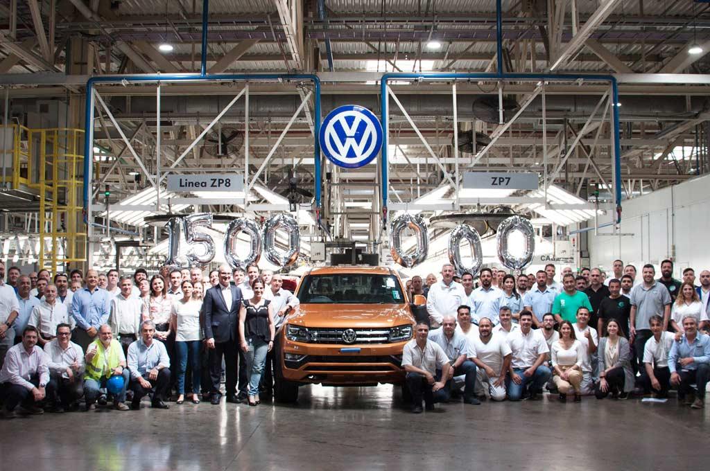 VW Argentina celebra la producción de 1.5 millones de unidades