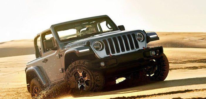 El Nuevo Wrangler llega a fin de año y será la estrella de Jeep en Cariló 2020