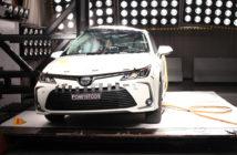 Cinco estrellas LatinNCAP para el Nuevo Corolla