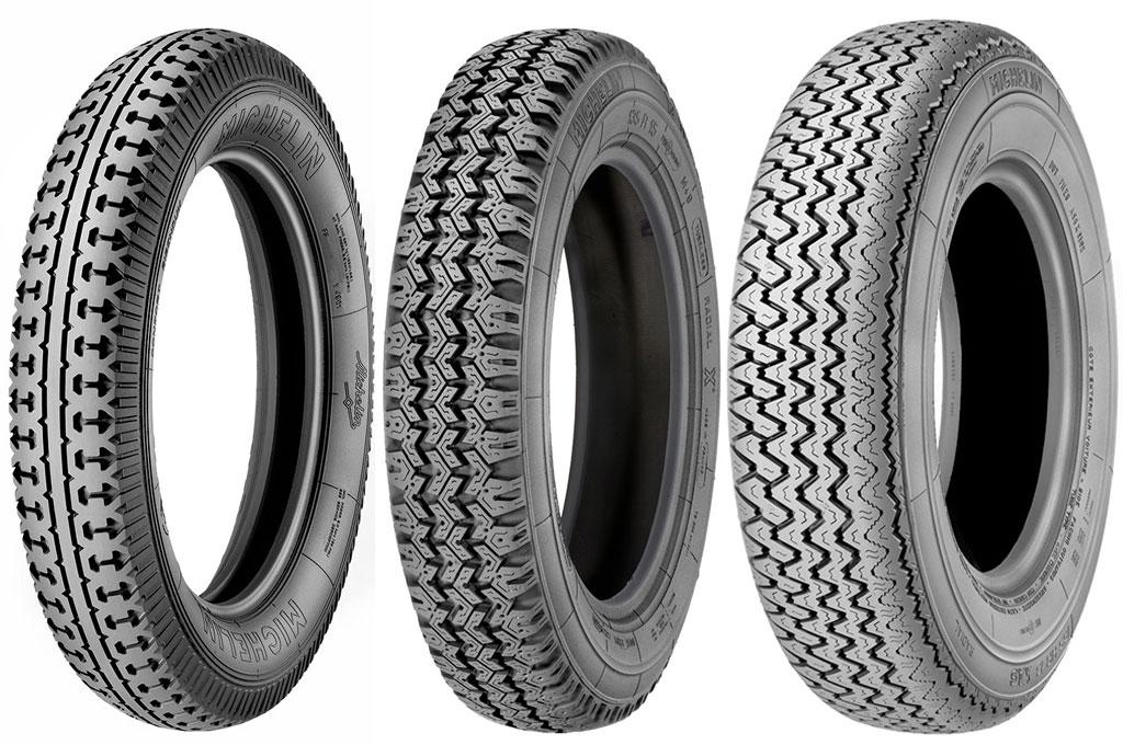 neumáticos para autos clásicos de Michelin