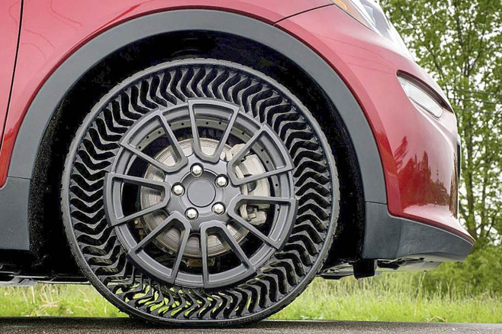 Neumático sin aire Michelin Uptis
