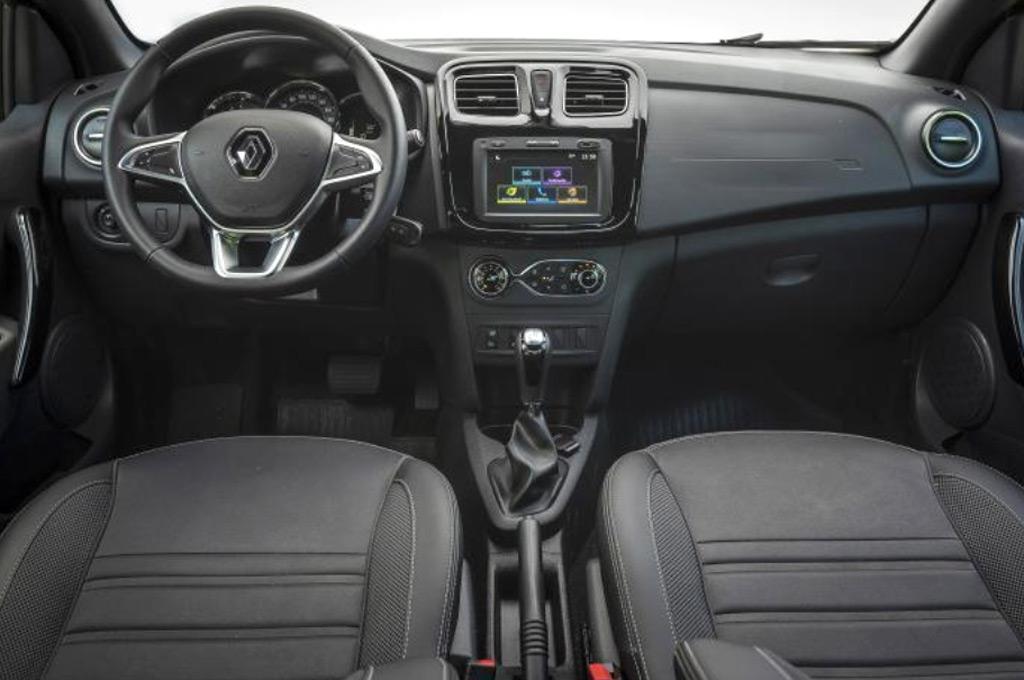 Interior del Nuevo Renault Logan 2020