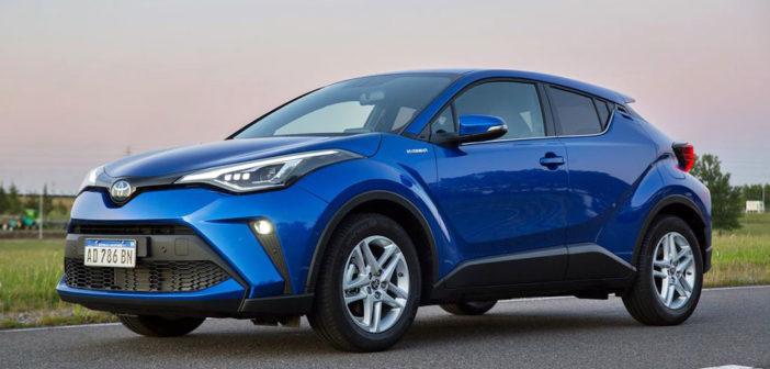 Argentina: se presentó el C-HR, el cuarto modelo híbrido de Toyota en el país