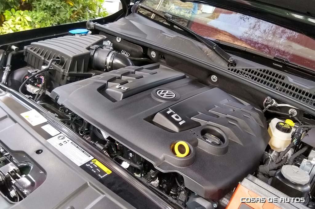 Motor V6 de la Amarok de 258 cv