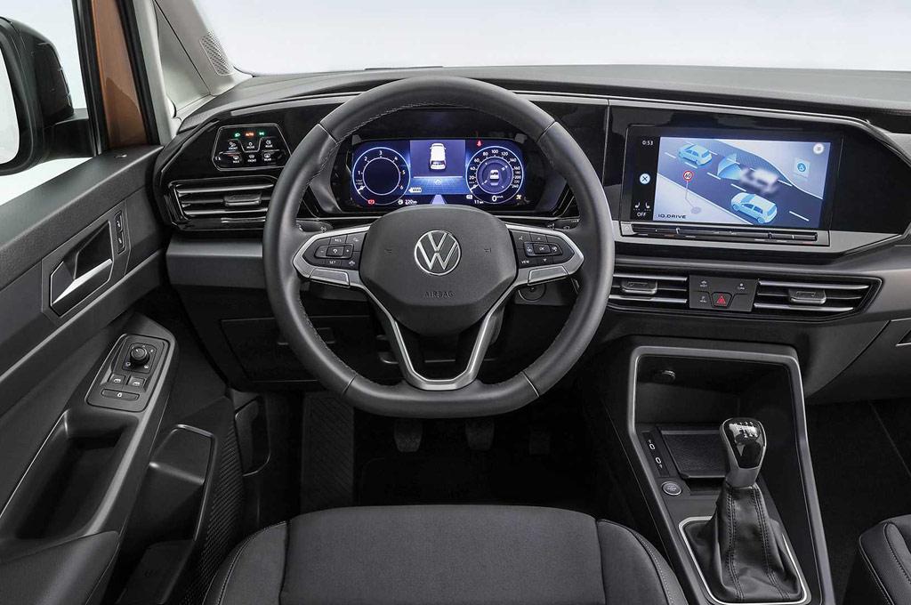 Interior del Nuevo VW Caddy