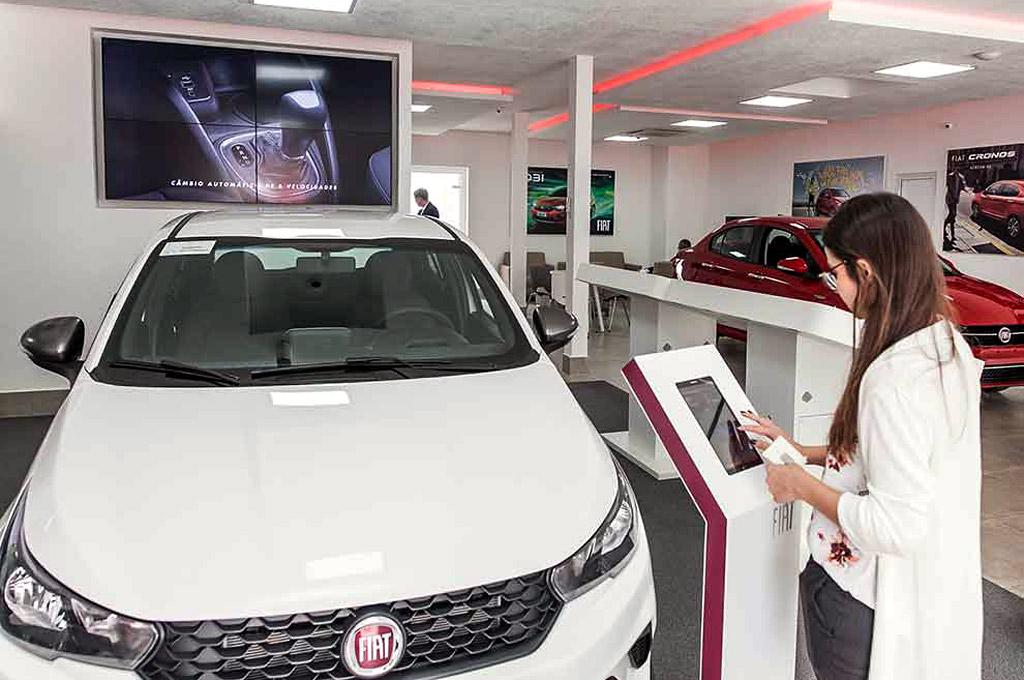 Fiat concesionario digital en Brasil