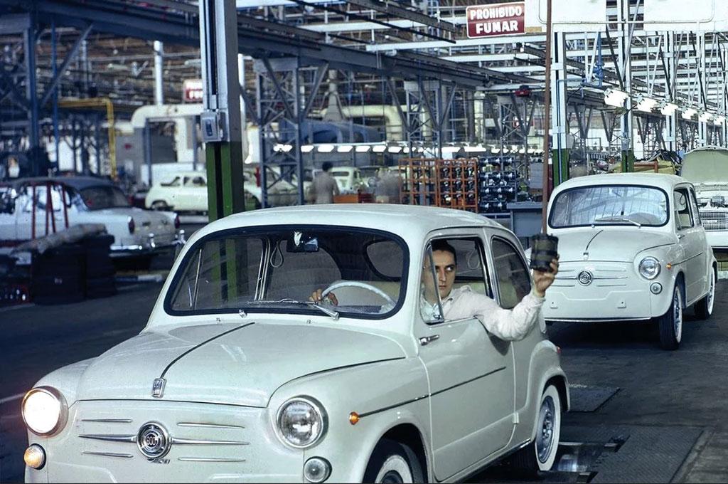 Fiat 600 en Caseros