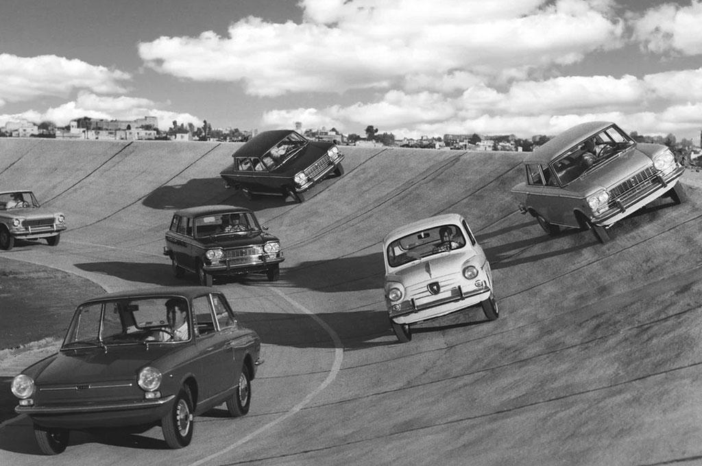 Fiat 600 en El Palomar