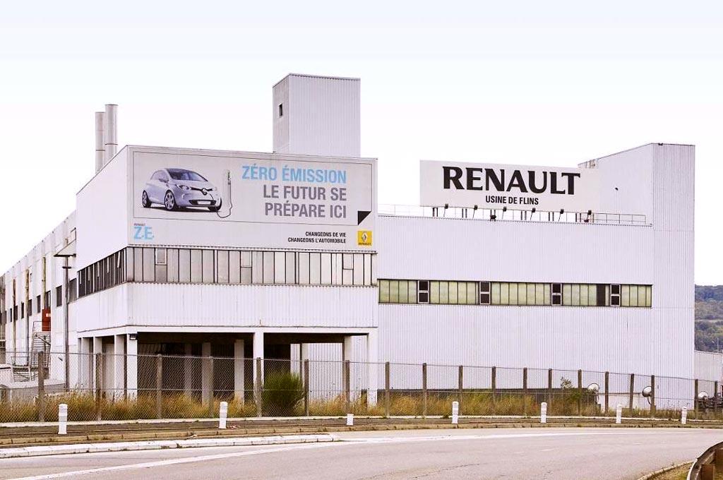 Planta de Renault en Flins
