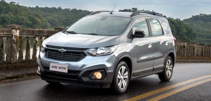 El Chevrolet Spin MY 2021 trae ESP, Control de Tracción y Asistente en pendientes