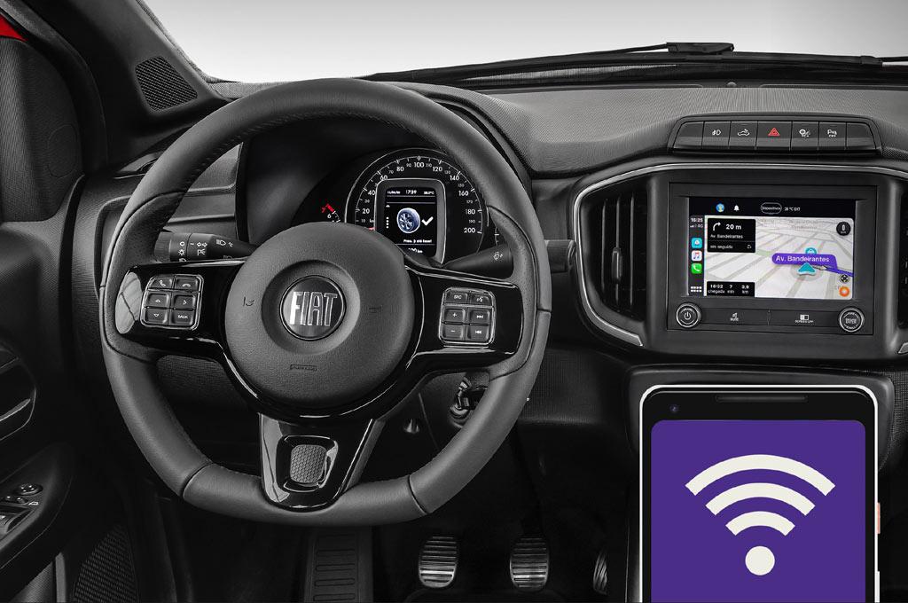 Nueva Fiat Strada 2021 Interior