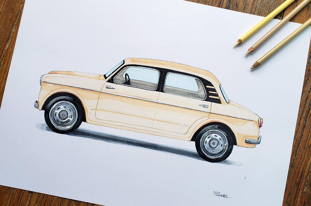 Florencia Proletti - Fiat 1100