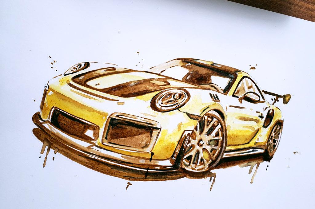 Florencia Proletti - Porsche