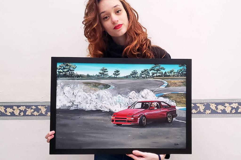 Florencia Proletti - Artista uruguaya