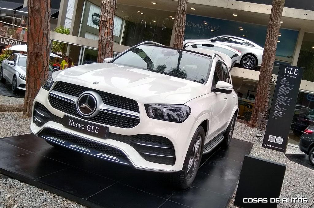 Mercedes-Benz stand de Cariló 2020