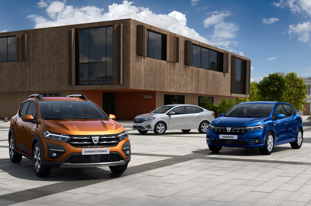Dacia Sandero y Logan 20211