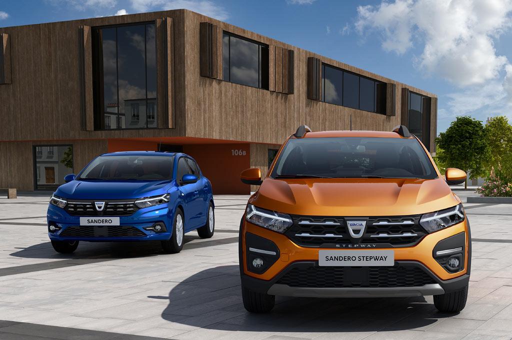 Dacia Sandero y Logan 2021