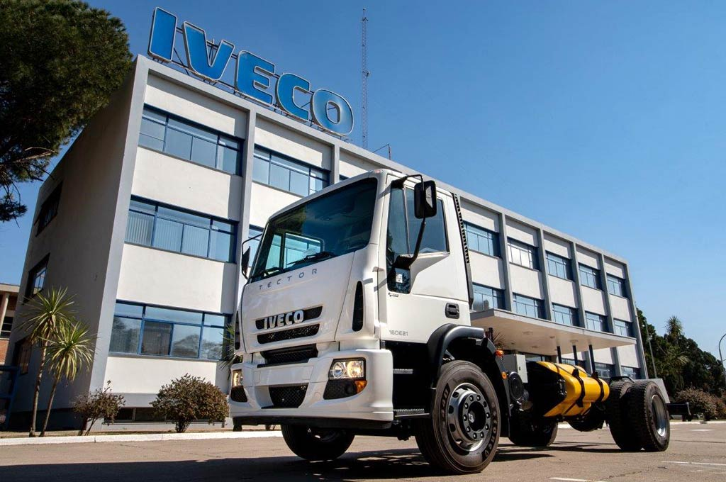 Iveco Tector a GNC