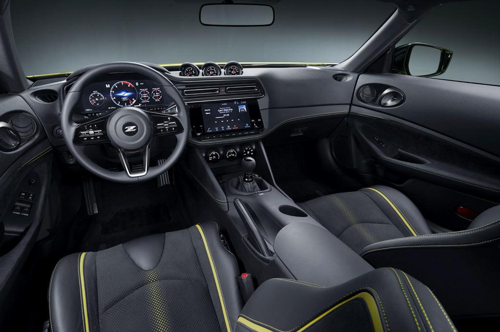 Interior del Nissan Z Proto