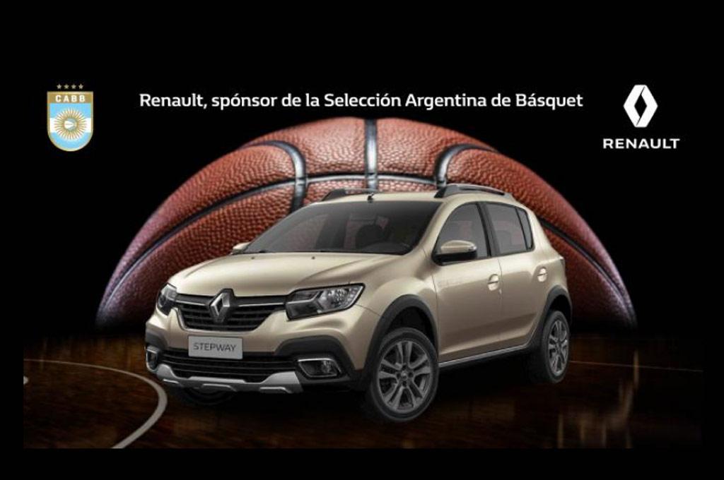 Renault es la automotriz oficial de la Selección Argentina de Básquet