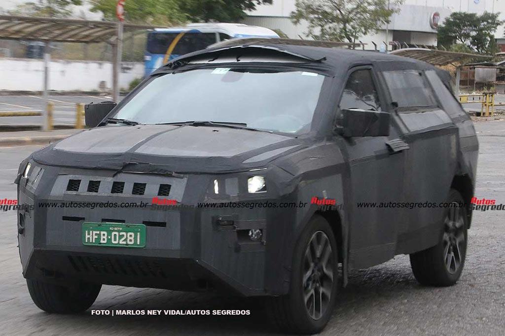 Proyecto 598 de FCA - Jeep de siete plazas