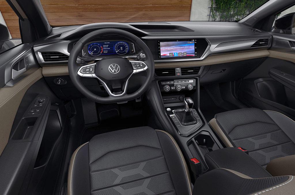 Interior del Volkswagen Taos