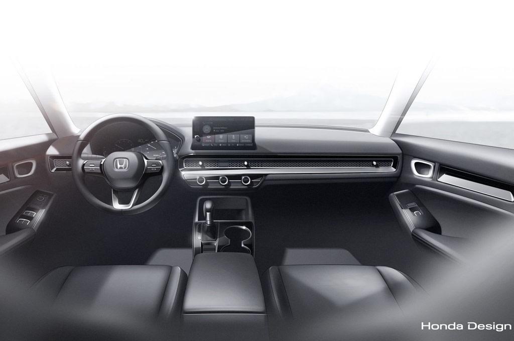 Interior del Nuevo Honda Civic Prototype